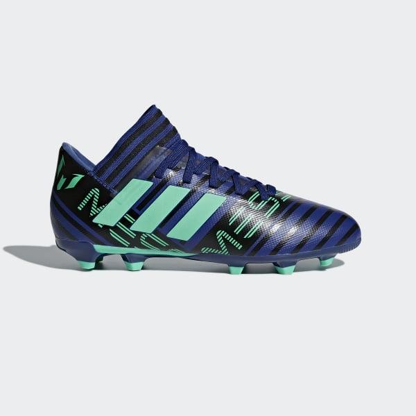 Zapatos de Fútbol Nemeziz Messi 17.3 Terreno Firme Azul CP9176