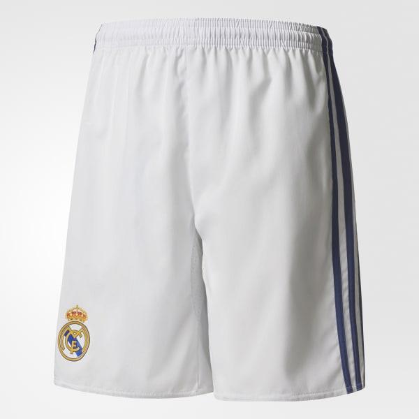 Pantaloneta Real Madrid Home Blanco AI5202