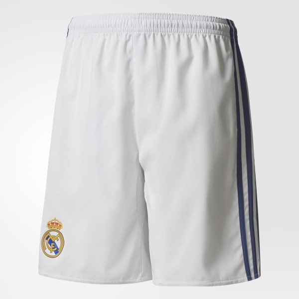 Real Madrid Home Shorts White AI5202