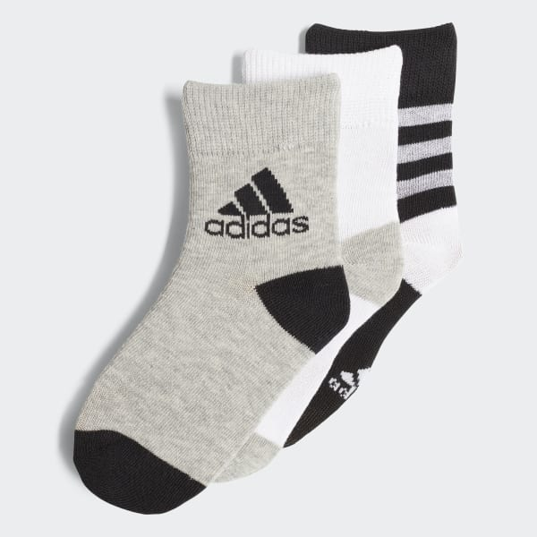 Ankle Socks 3 Pairs Black DJ2266