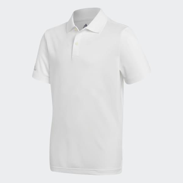 Tournament Poloshirt weiß CX4868