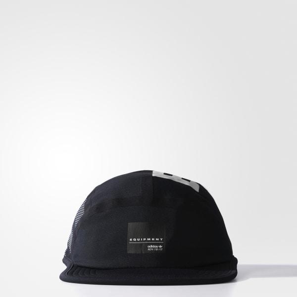 EQT Techy Seven-Panel Kappe schwarz BR9561