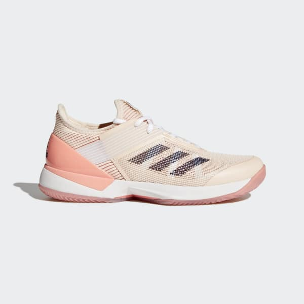 Adizero Ubersonic 3.0 Clay Shoes White CM7754