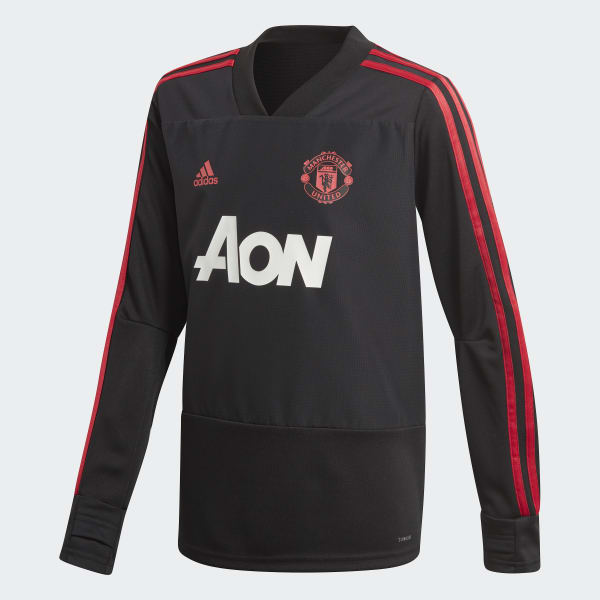 Manchester United Training Top Black CW7593