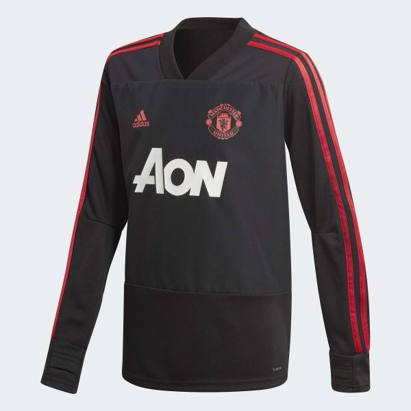 Manchester United Trainingsshirt zwart CW7593