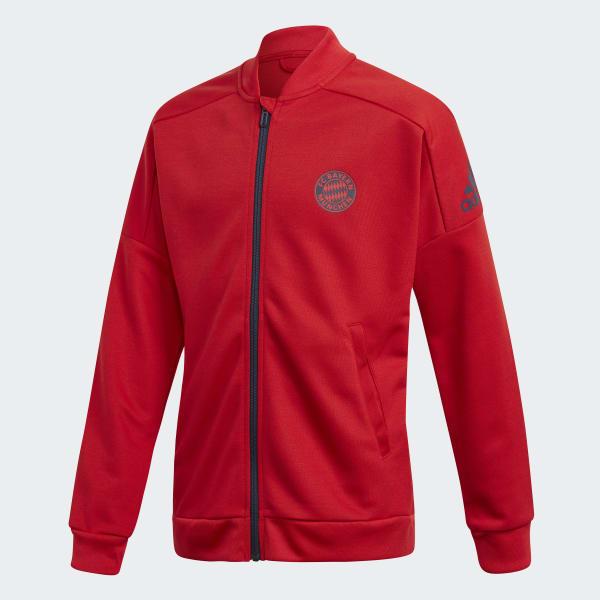 FC Bayern Track Jacket Red CV6196