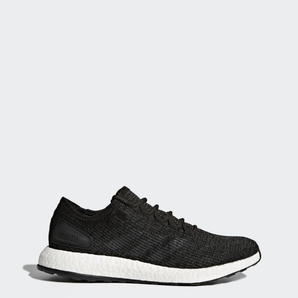 Pure Boost Schuh schwarz BA8899