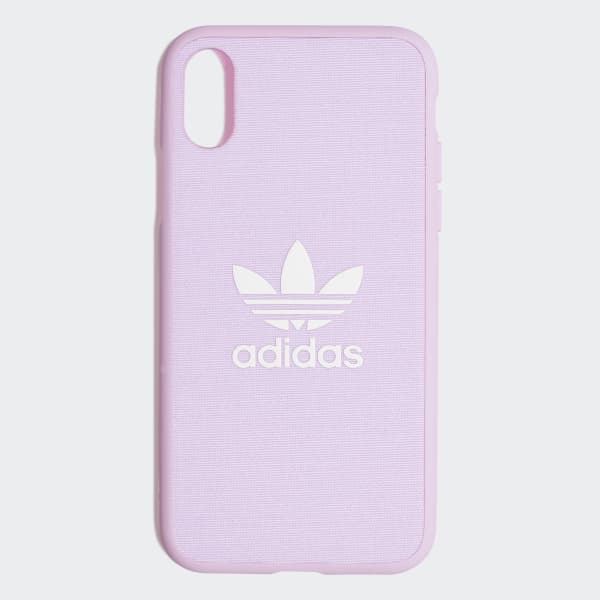Fabric Snap iPhone X Schutzhülle rosa CK6185
