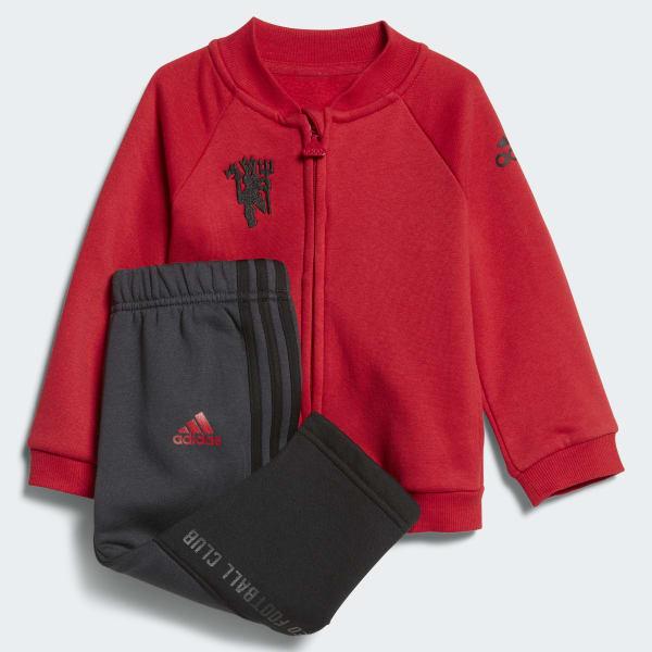 Ensemble sportswear Mini Me Manchester United rouge CF7429