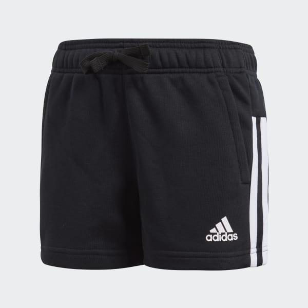Essentials 3-Streifen Mid Shorts schwarz BP8636