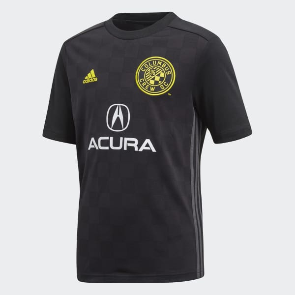 Columbus Crew SC Away Jersey Black CE6267