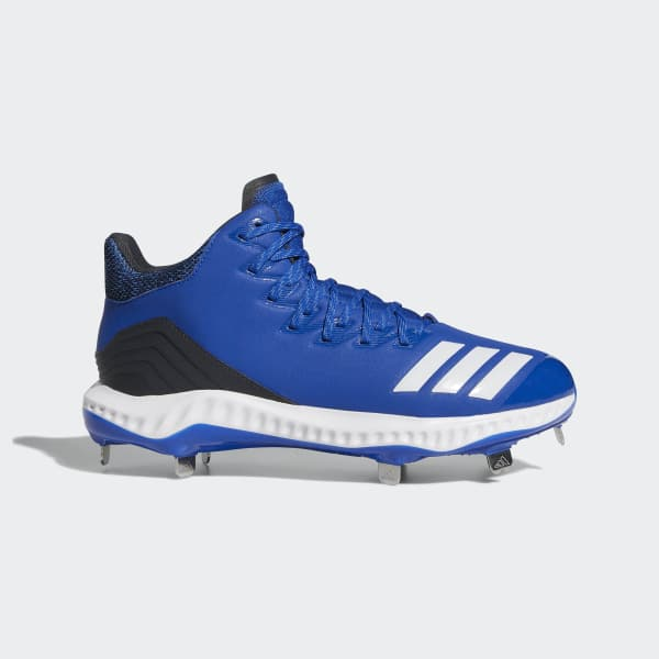 Icon Bounce Mid Cleats Blue CG5177