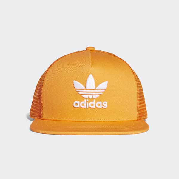 Trefoil Trucker Hat Orange DH4168