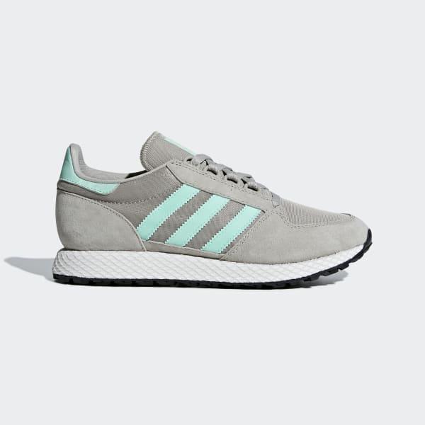 Sapatos Forest Grove Cinzento B75612
