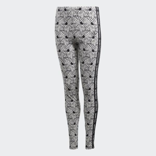 Zebra Leggings Beige D98905