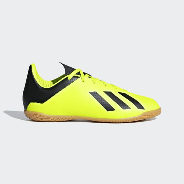 Calzado de Fútbol X Tango 18.4 Superficies Interiores Niño Amarillo DB2433
