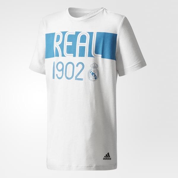Real Madrid T-Shirt weiß CE8931
