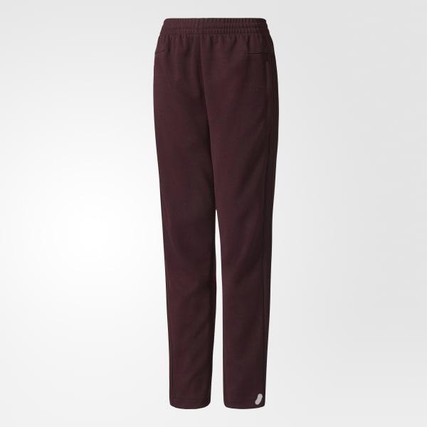 Pantaloni ID 3-Stripes Tiro Rosso CF2206