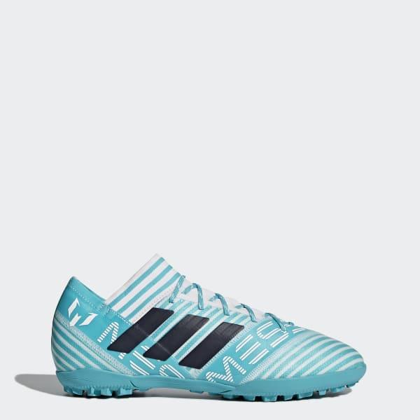 Chaussure Nemeziz Messi Tango 17.3 Turf turquois S77192
