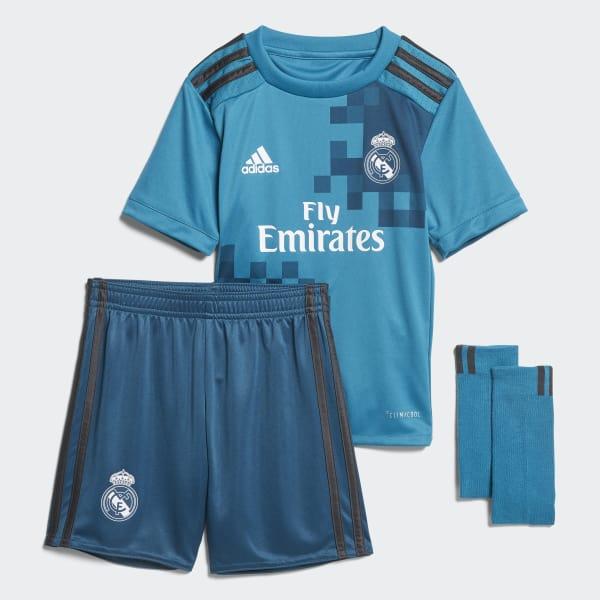 Mini Kit Third Real Madrid Blu B31083