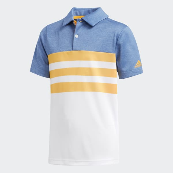 3-Stripes Polo Shirt Yellow CE3162