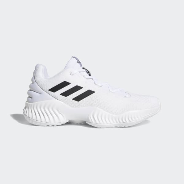 Pro Bounce 2018 Low Shoes White BB7410