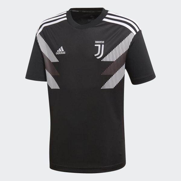 Camiseta calentamiento primera equipación Juventus Negro CW5822