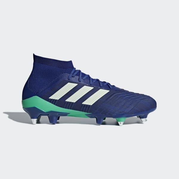 Predator 18.1 Soft Ground Boots Blue CP9262