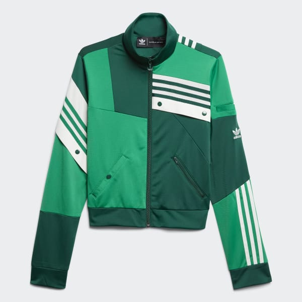 Deconstructed Track Jacket Green DZ7503