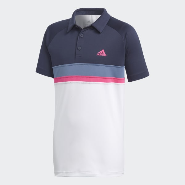 Colorblock Club Poloshirt blau DH2778