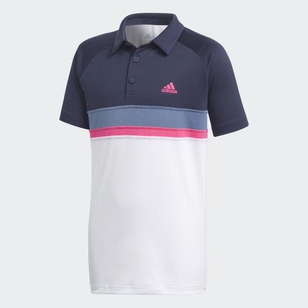Polo Colorblock Club Azul DH2778