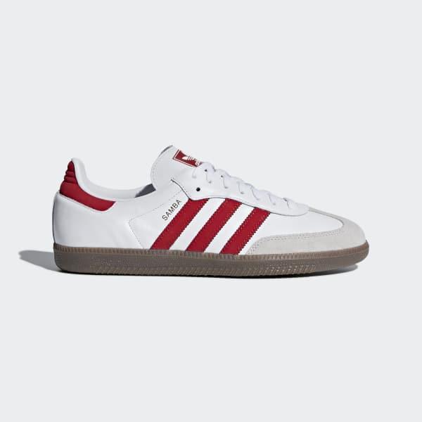 Chaussure Samba OG blanc B44628