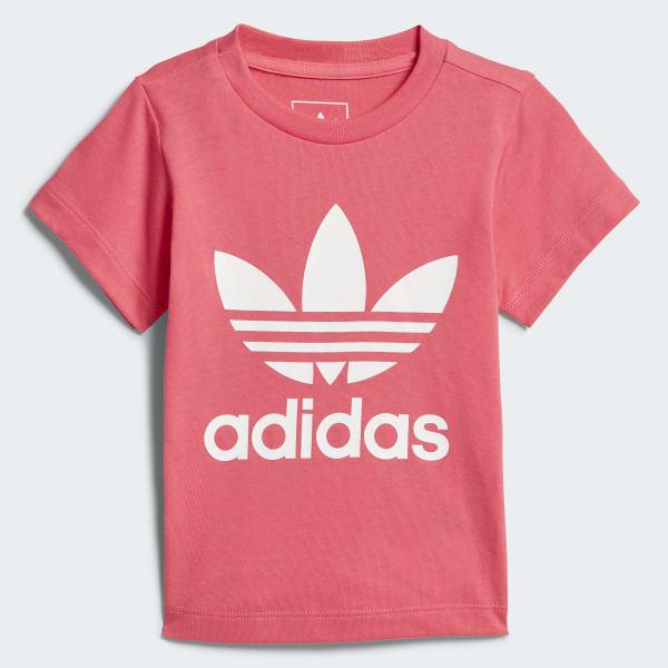 Trefoil T-shirt roze CE4317