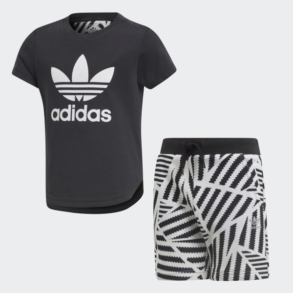 Completo GRPHC Shorts and Tee Nero CD8420