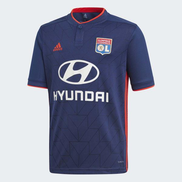 Camiseta segunda equipación Olympique de Lyon Azul CK3249