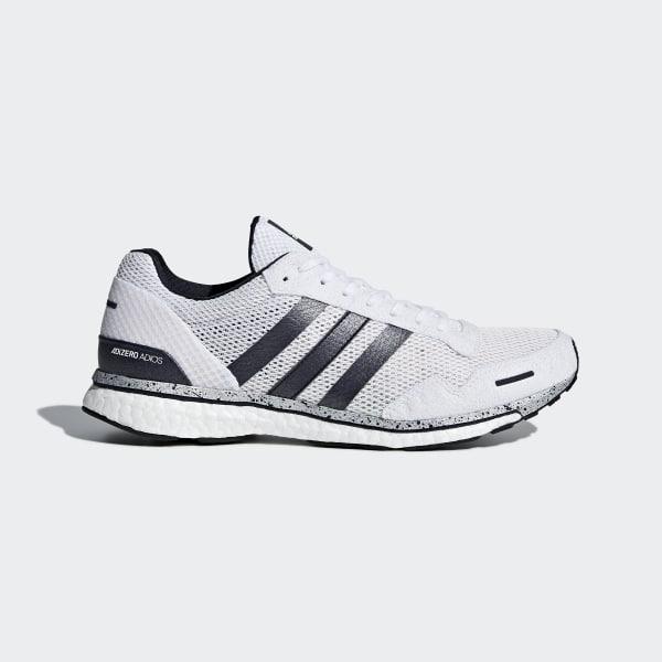 Adizero Adios 3-schoenen blauw AQ0191
