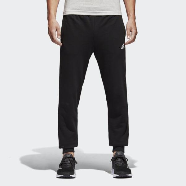 Pantaloni Essentials French Terry Nero BK7433
