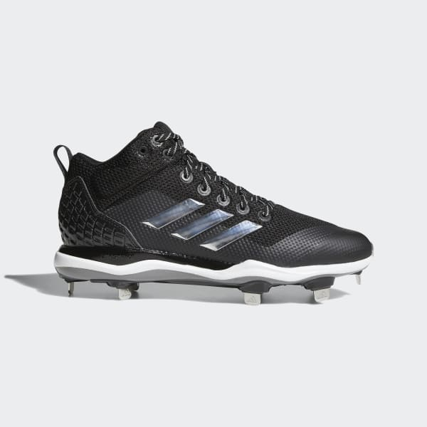 PowerAlley 5 Mid Cleats Black B39192