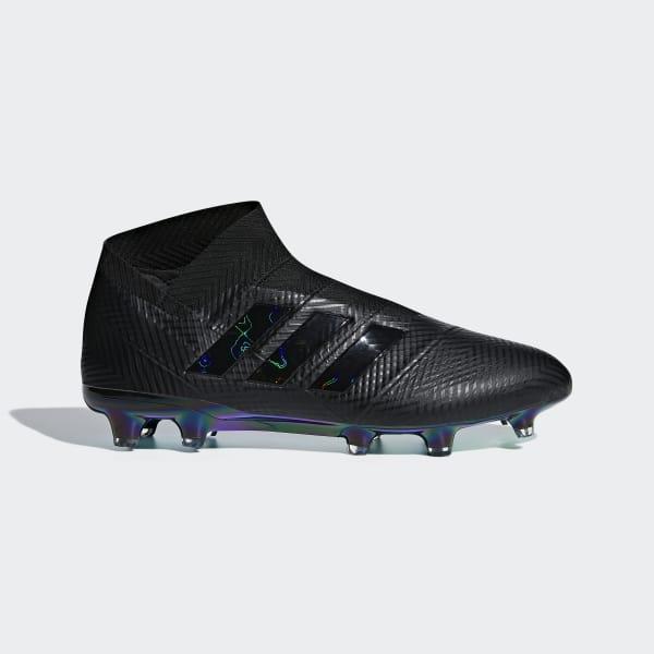 Nemeziz 18+ FG Fußballschuh schwarz DB2070