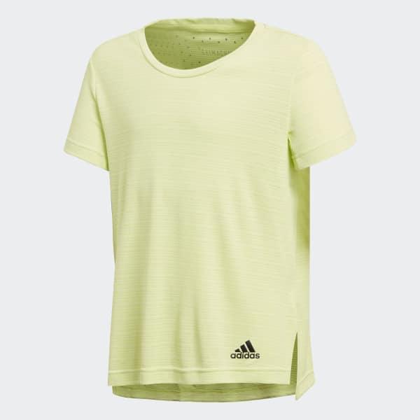 Camiseta de Treino Climachill Amarelo CF7225