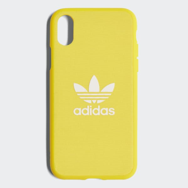 Adicolor Snap iPhone X Schutzhülle gelb CJ6196
