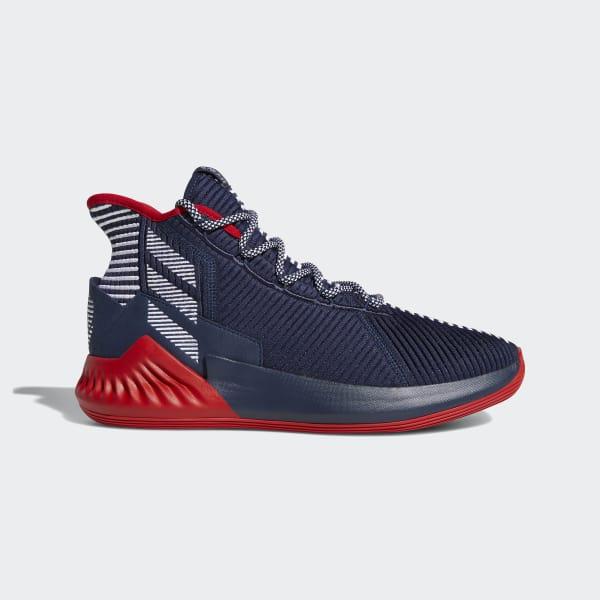 D Rose 9 Schuh blau AQ0036