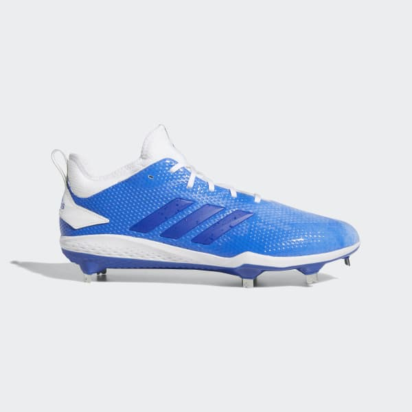 Adizero Afterburner V Splash Cleats White B76037