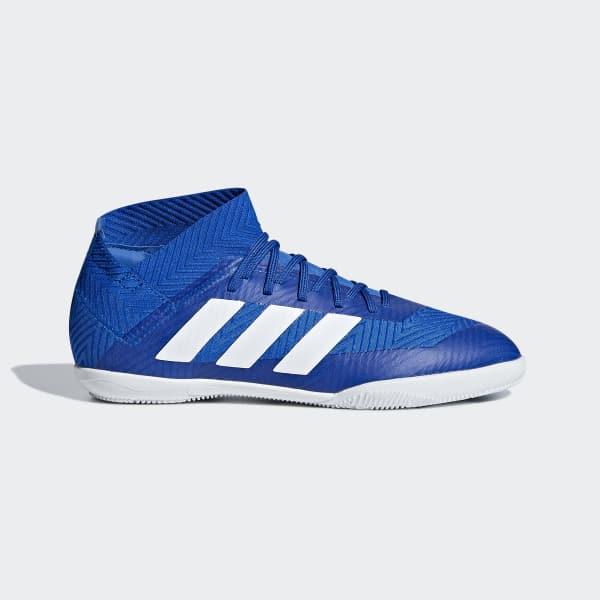 Calzado de Fútbol Nemeziz Tango 18.3 Bajo Techo Niño Azul DB2374