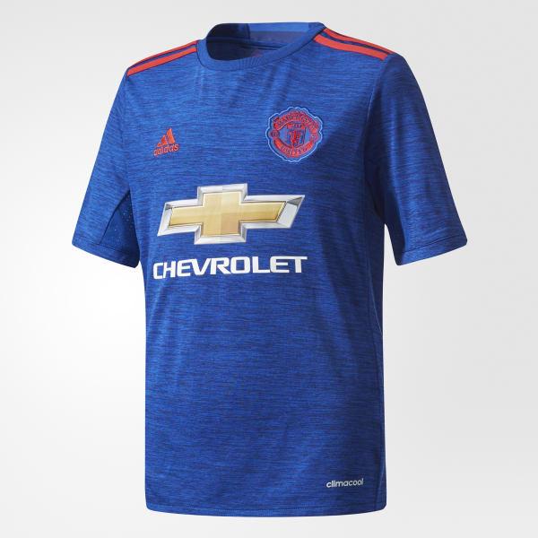Camiseta segunda equipación Manchester United FC Azul AI6701
