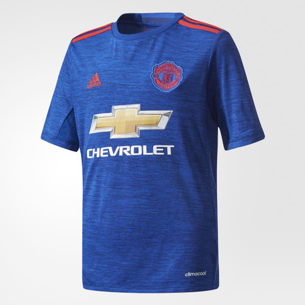 Manchester United Auswärtstrikot blau AI6701