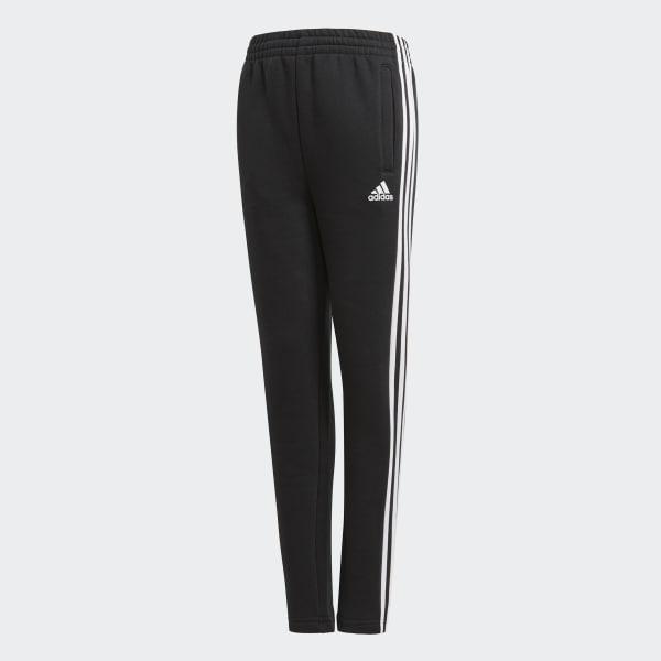 Essentials 3-Stripes Fleece Pants Black BQ2832