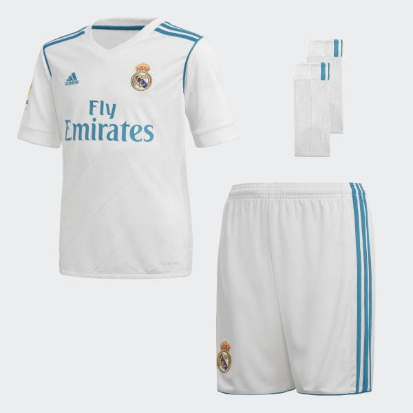 Real Madrid Home Mini Kit White B31114