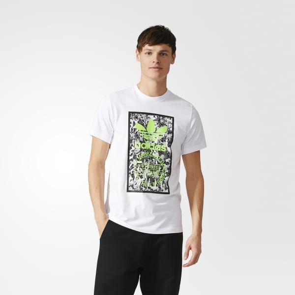 Camiseta Tongue Label Blanco BQ7696