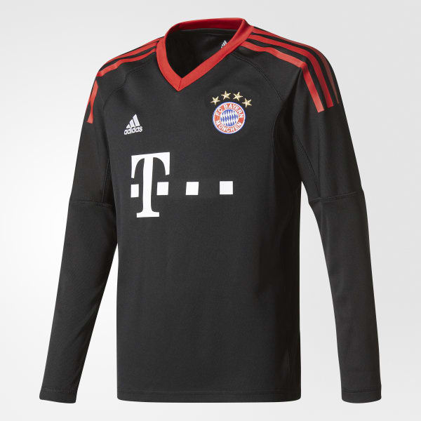 FC Bayern Munich Replica Goalkeeper Jersey Black AZ7945